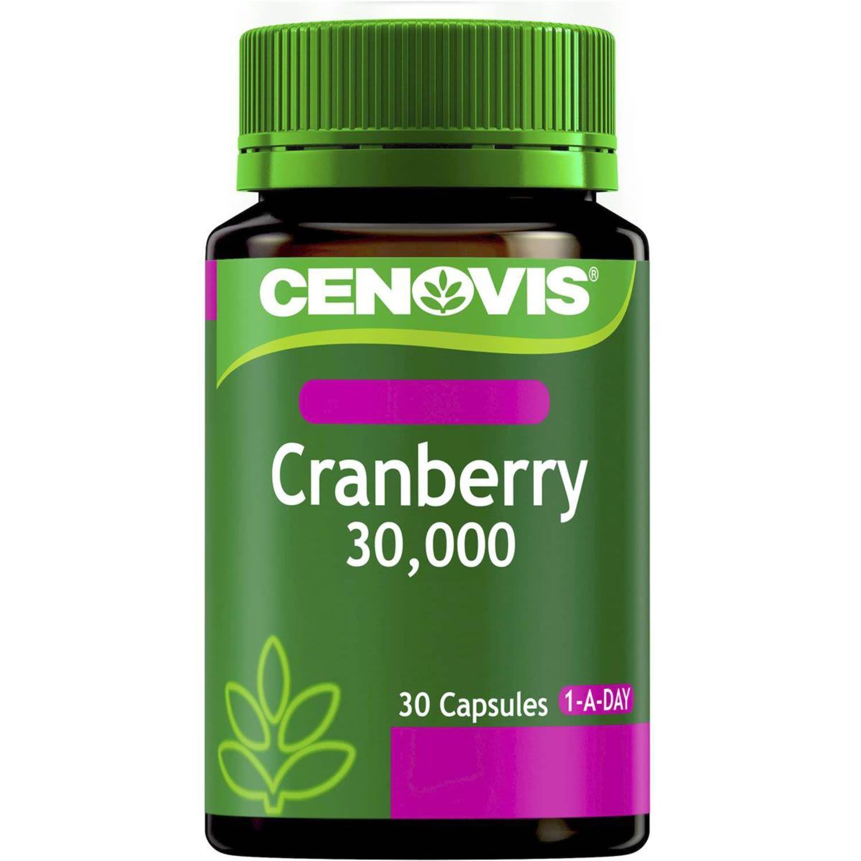 Cenovis Cranberry 30000mg Women's, 30 Each