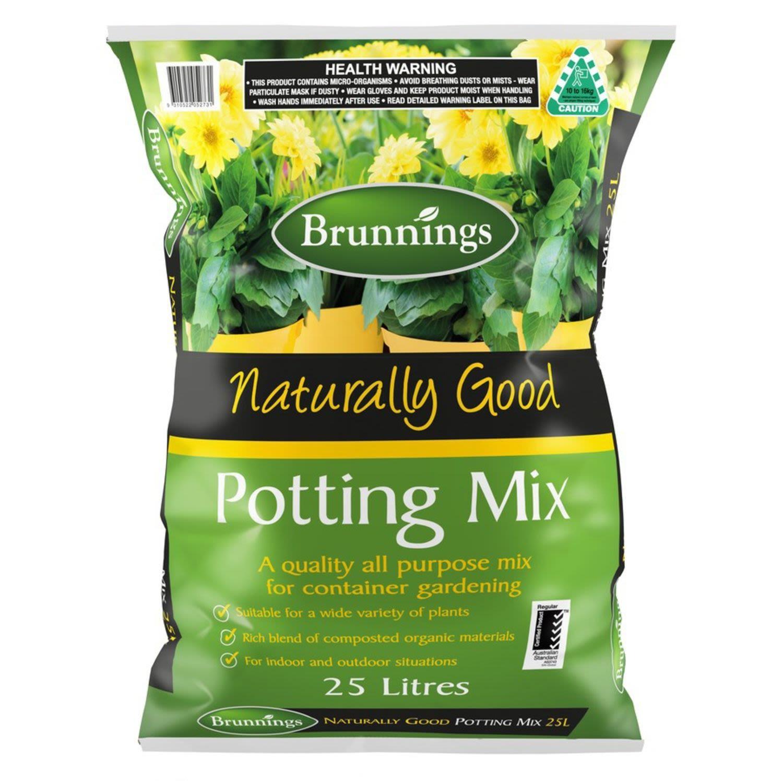 Brunnings All Purpose Potting Mix, 25 Litre
