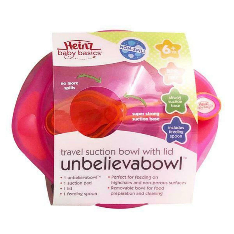 Heinz Baby Basics Bowls & Spoons Unbelievabowl, 1 Each