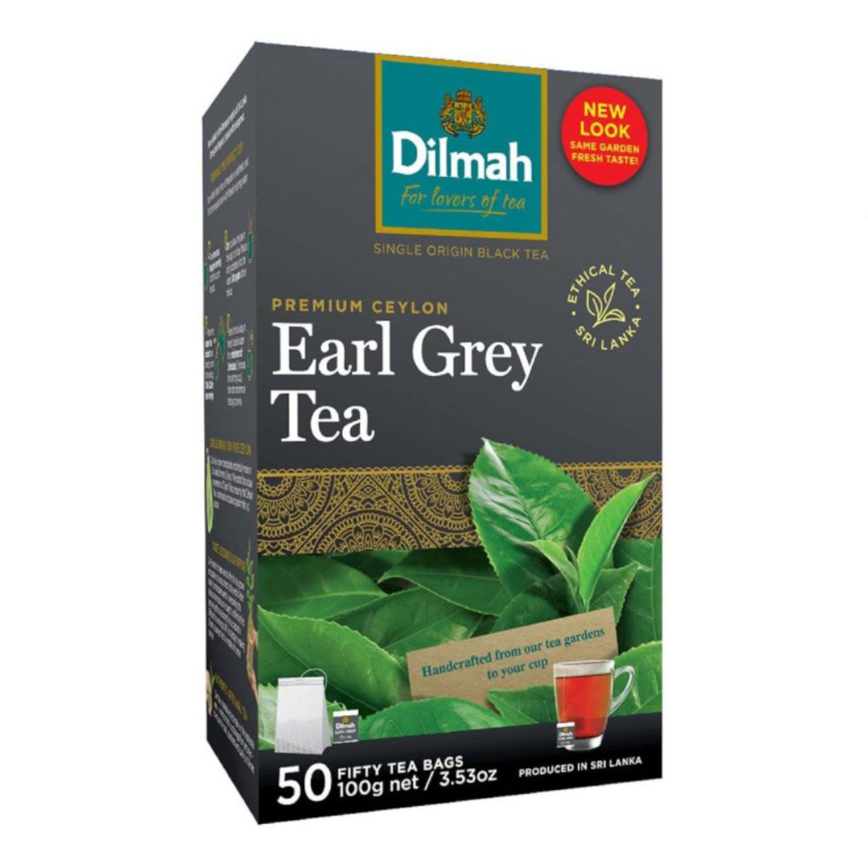 Dilmah Earl Grey Tea Bag, 50 Each