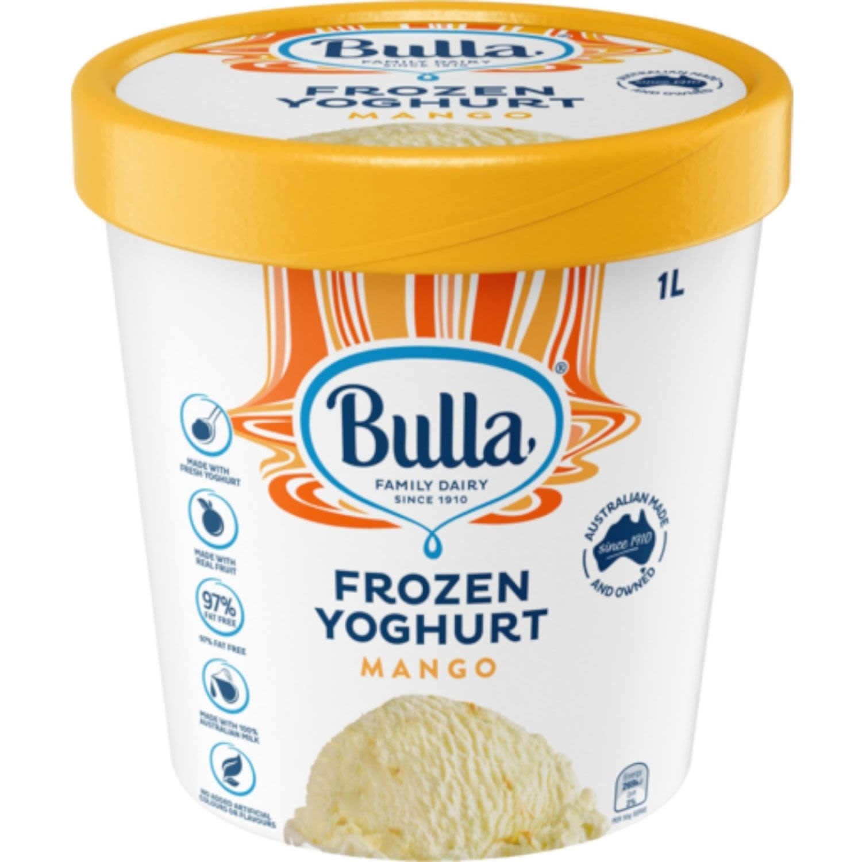 Bulla Frozen Mango Yoghurt, 1 Litre