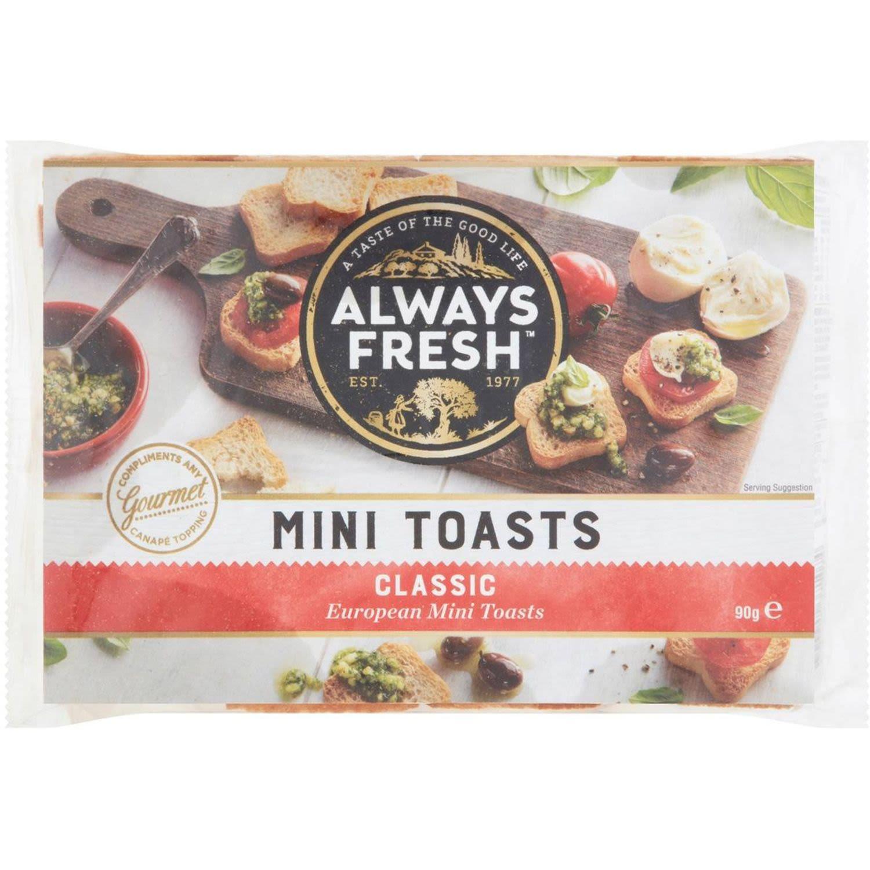 Always Fresh Mini Toasts, 90 Gram