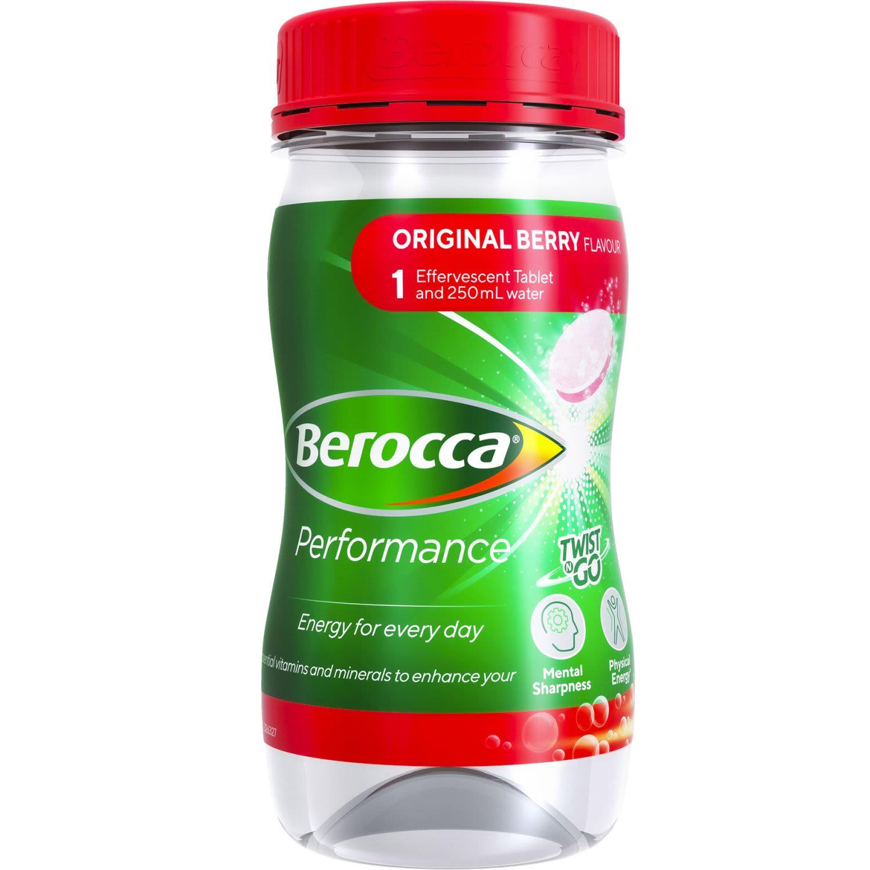 Berocca Vitamin B & C Original Berry Flavour Twist N Go Energy Drink, 250 Millilitre