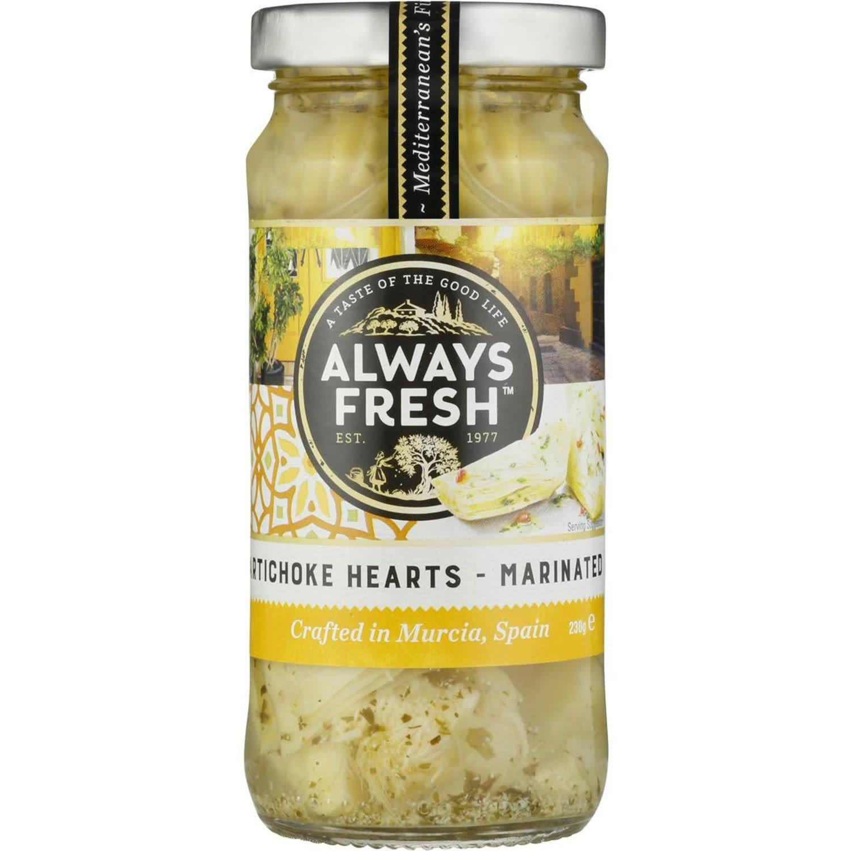 Always Fresh Marinated Artichoke Hearts, 230 Gram