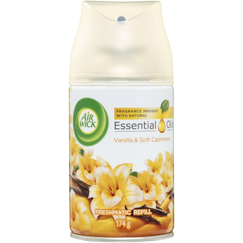 Air Wick Essential Oil Freshmatic Refill Vanilla, 174 Gram