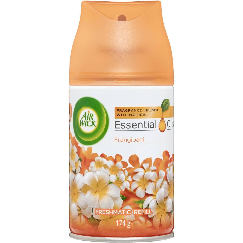 Air Wick Essential Oil Freshmatic Refill Frangipani, 174 Gram