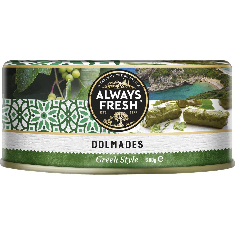 Always Fresh Dolmades, 280 Gram
