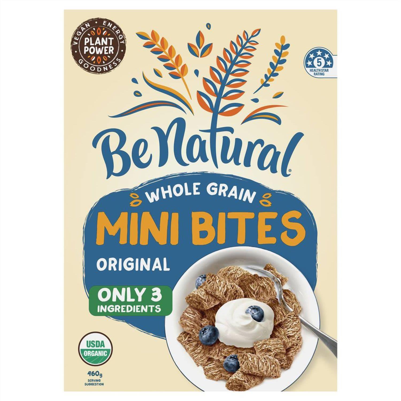 Be Natural Bites Whole Grain Original, 460 Gram