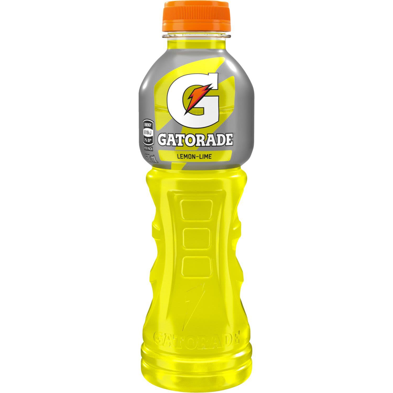 Gatorade Lemon Lime Sports Drink Bottle, 600 Millilitre