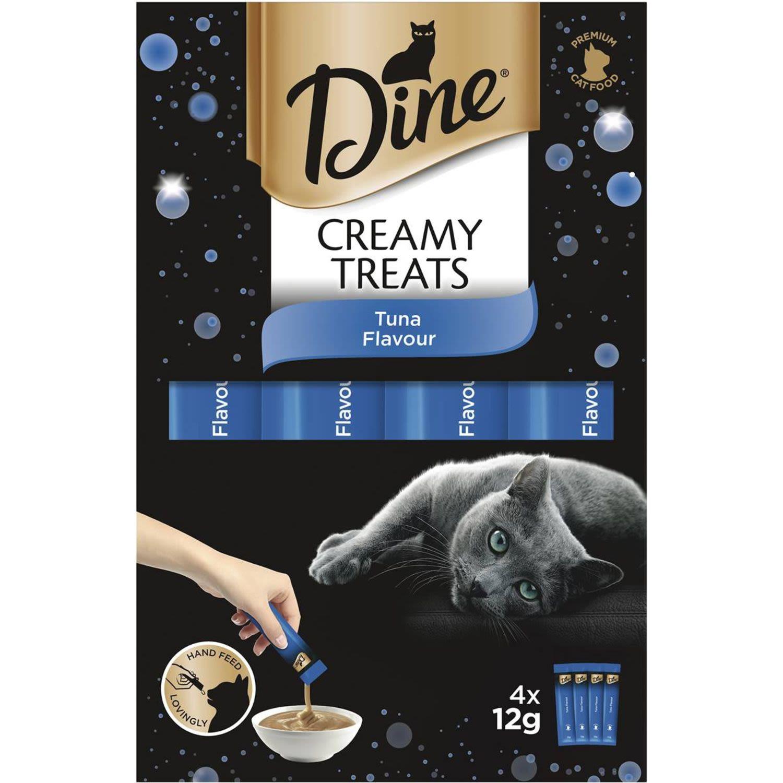 Dine Creamy Treats Tuna Flavour Cat Treat, 4 Each