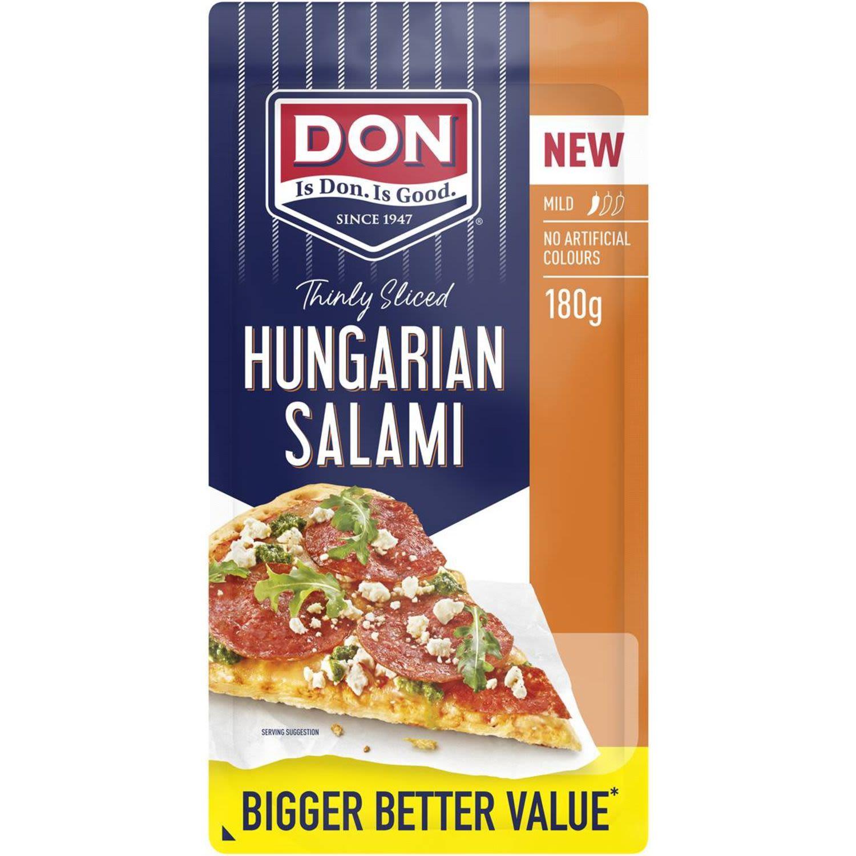 Don Salami Hungarian Mild, 180 Gram