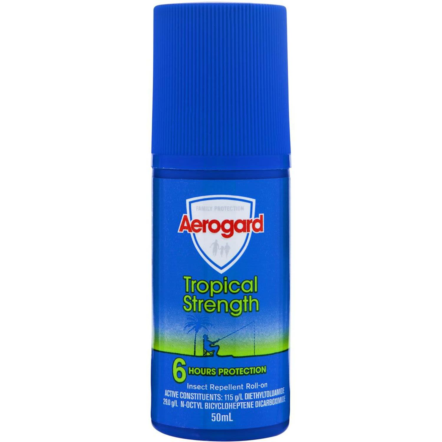 Aerogard Insect Repellent Lotion Roll On Tropical, 50 Millilitre