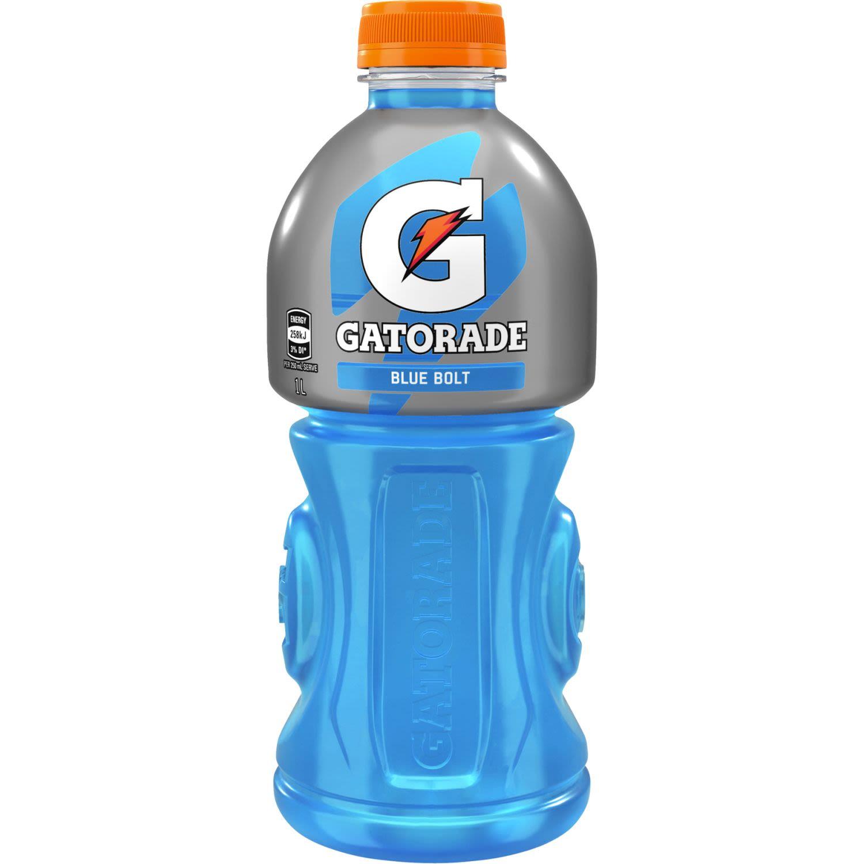 Gatorade Blue Bolt Sports Drink Bottle, 1 Litre