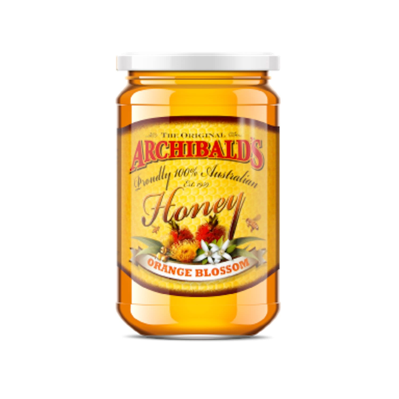 Archibald's Orange Blossom Honey, 320 Gram