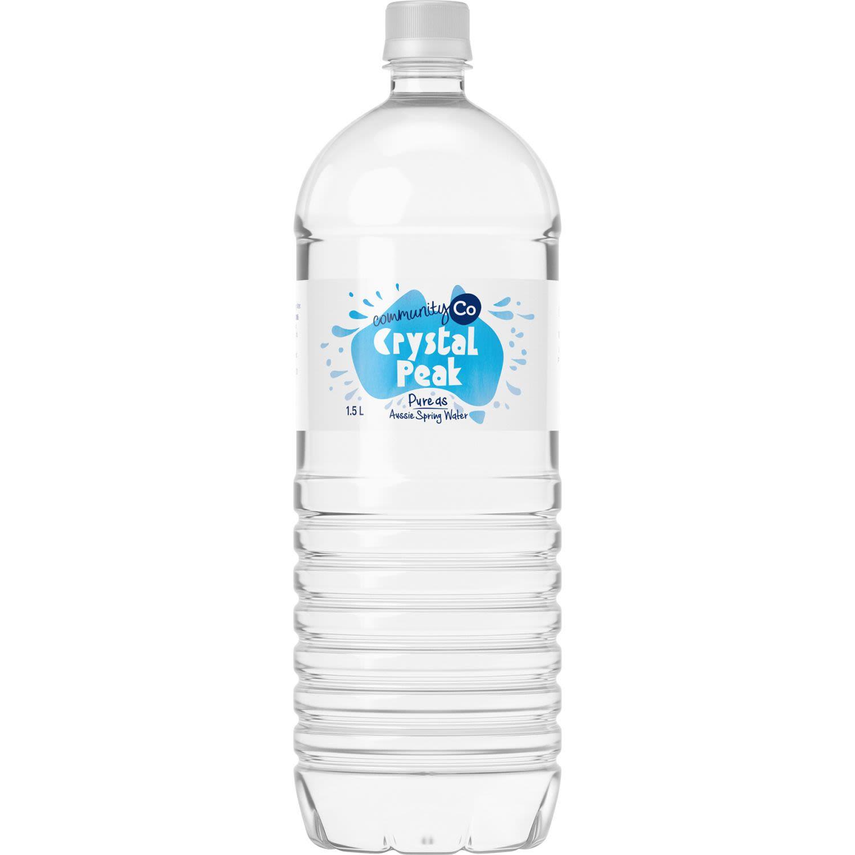 Community Co Crystal Peak Spring Water, 1.5 Litre