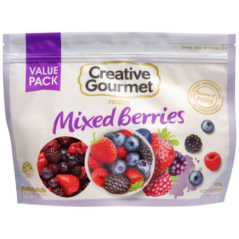 Creative Gourmet Mix Berries, 900 Gram