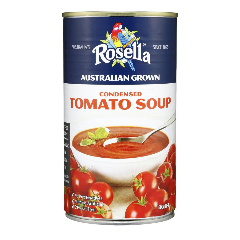 Rosella Condensed Soup Tomato, 500 Gram