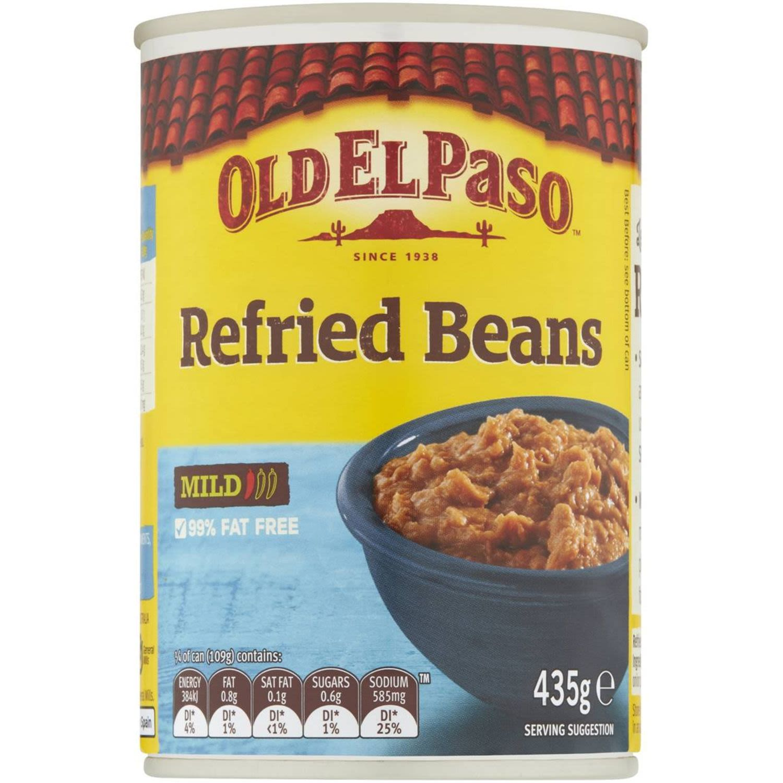 Old El Paso Refried Beans, 435 Gram