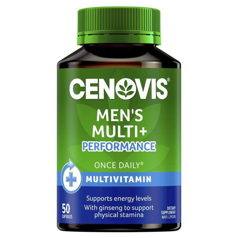 Cenovis Multivitamin Performance For Men, 50 Each
