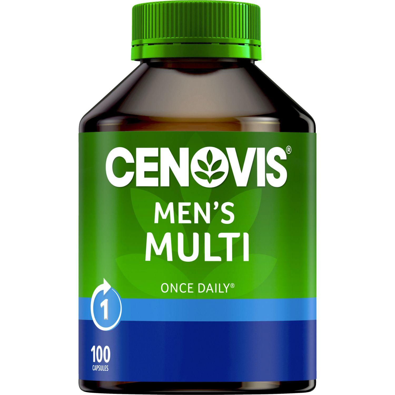 Cenovis Once Daily Men's Multi Capsules, 100 Each