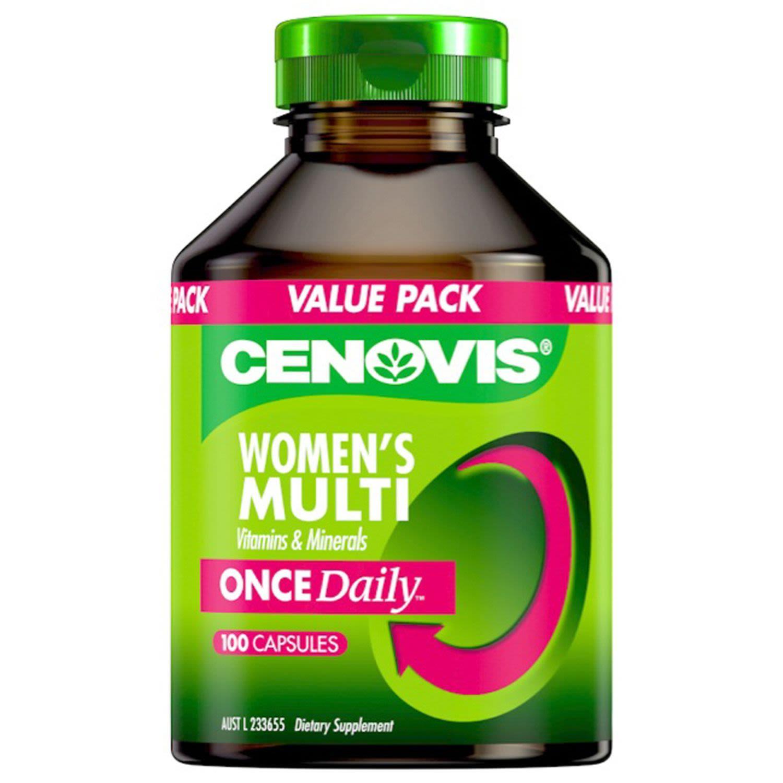 Cenovis Once Daily Women's Multi Capsules, 100 Each