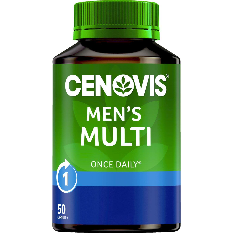 Cenovis Once Daily Men's Multi Capsules, 50 Each