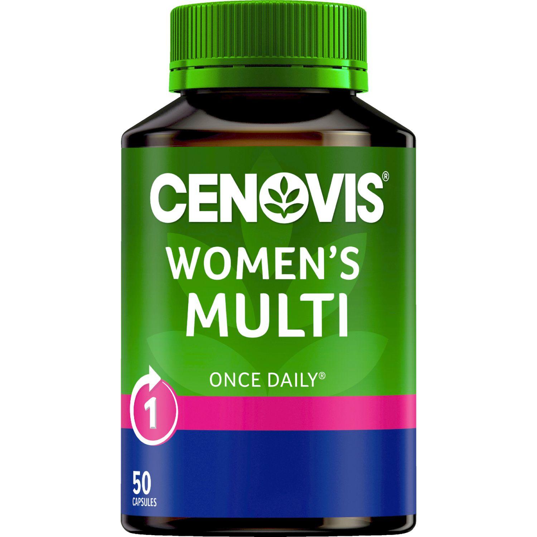Cenovis Once Daily Women's Multi Capsules, 50 Each