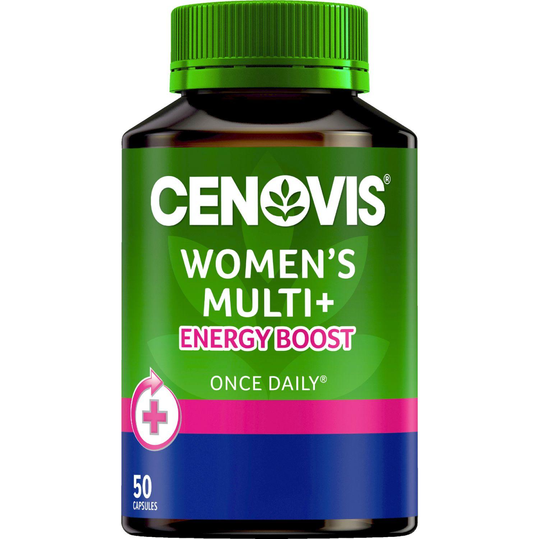 Cenovis Once Daily Women's Multi Energy Boost, 50 Each