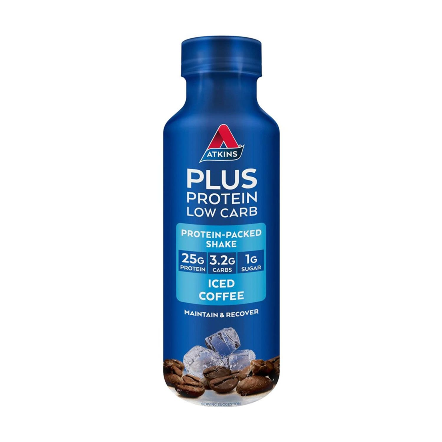 Atkins Plus Protein Iced Coffee, 400 Millilitre
