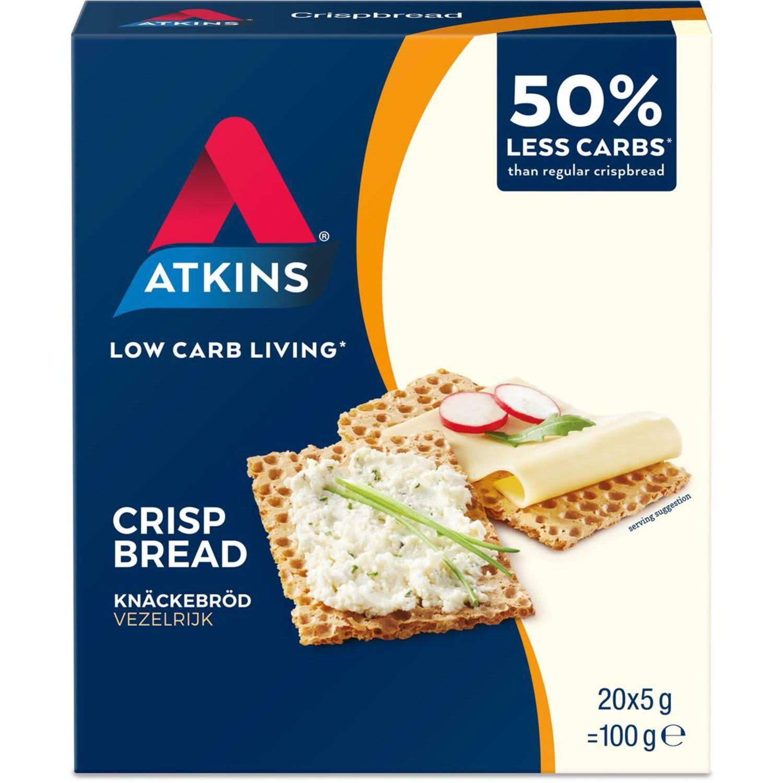 Atkins Low Carb Crispbread, 100 Gram