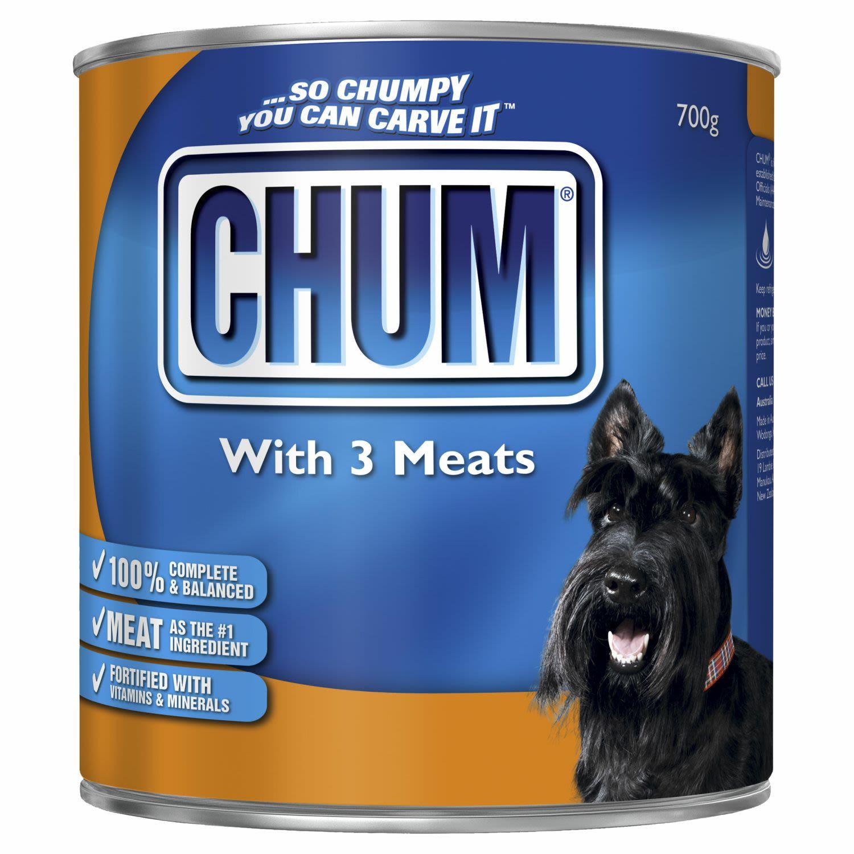 Chum With Three Meats, 700 Gram