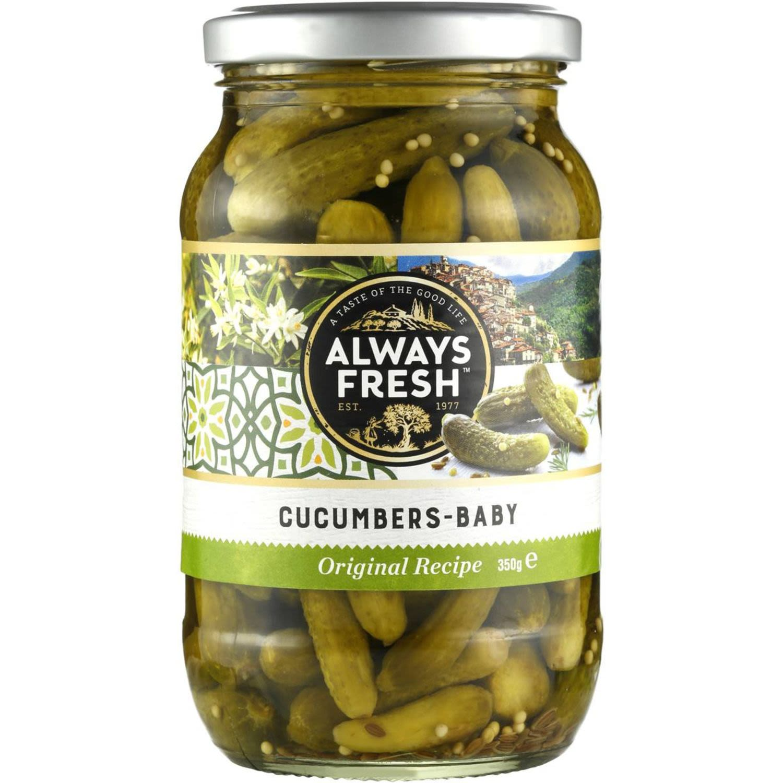 Always Fresh Baby Cucumbers, 680 Gram
