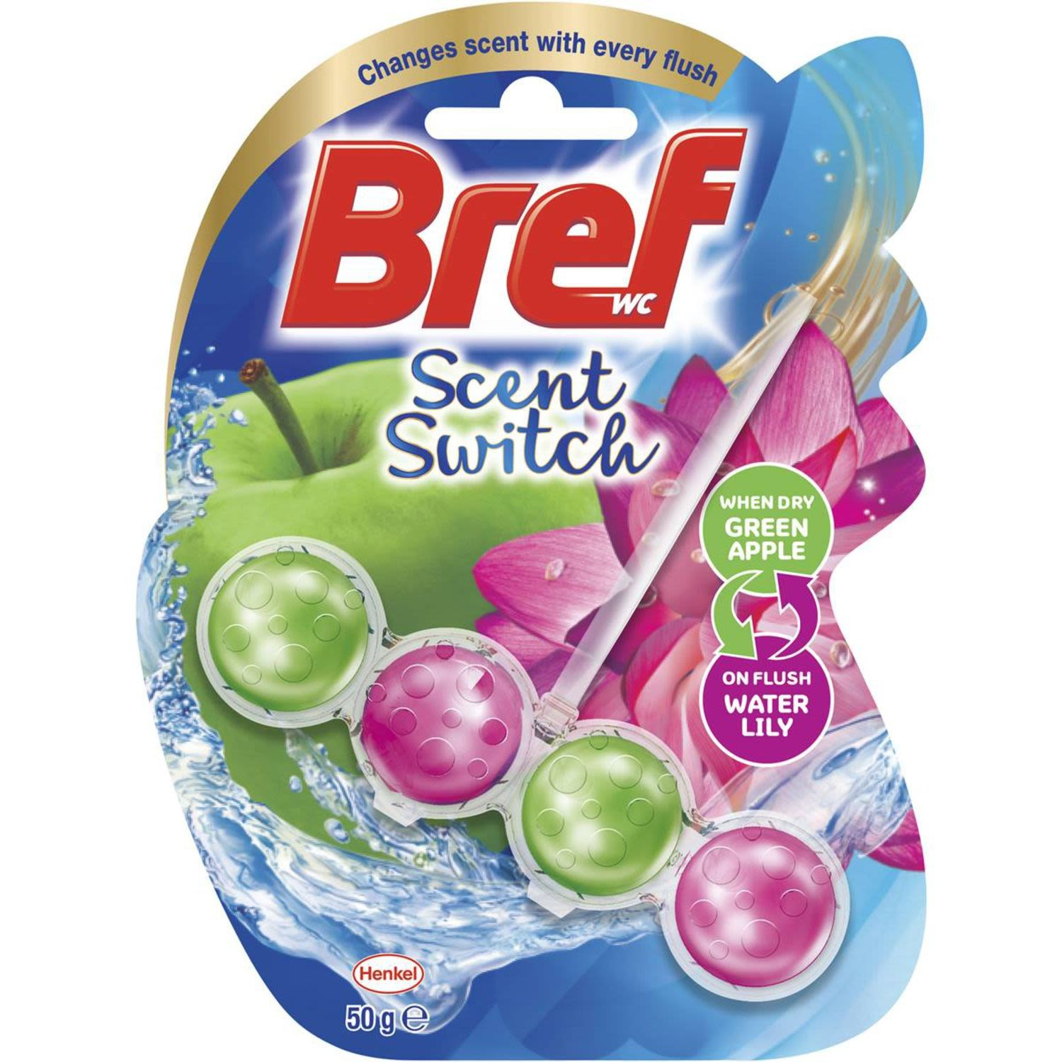 Bref Scent Switch Apple & Water Lily, 50 Gram