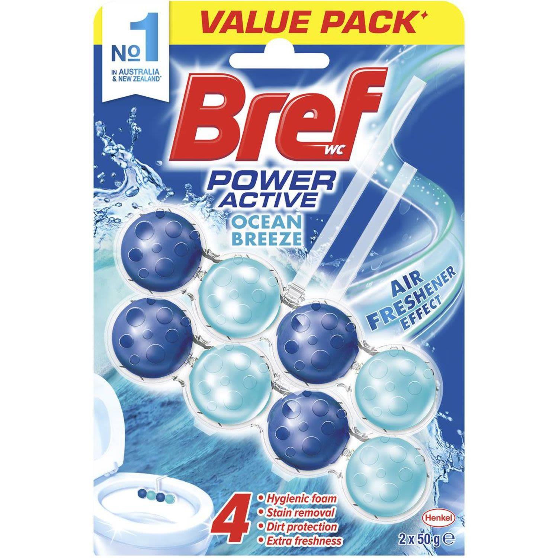 Bref Power Active Ocean Breeze, 2 Each