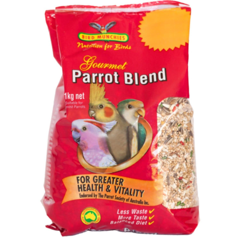 Bird Munchies Gourmet Parrot Seed, 1 Kilogram