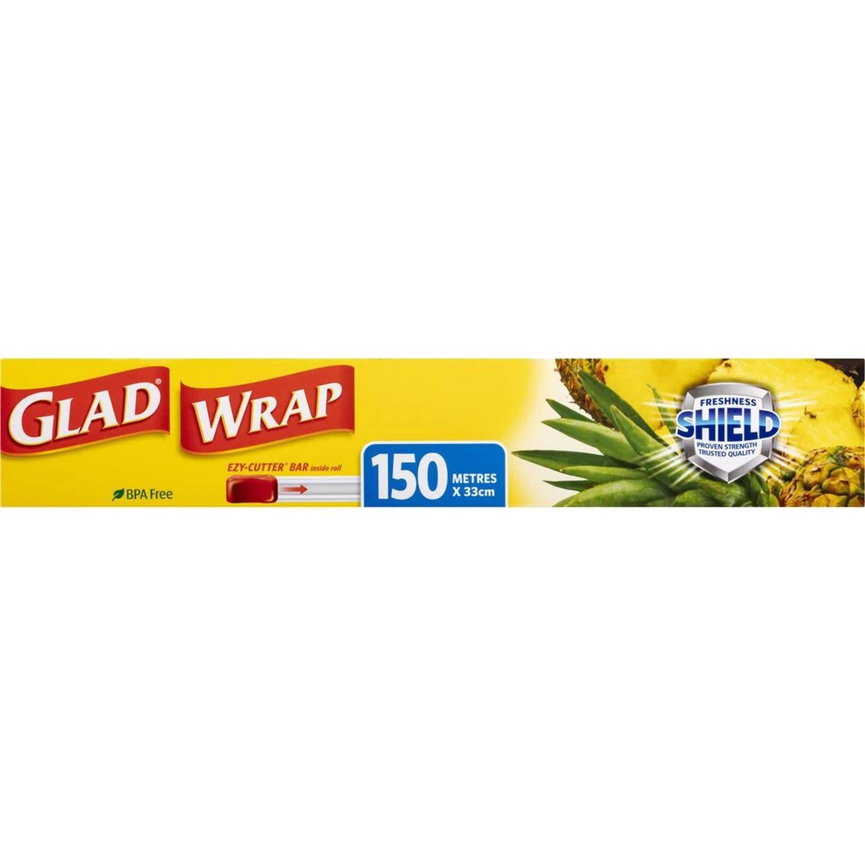 Glad Cling Wrap 150m, 1 Each