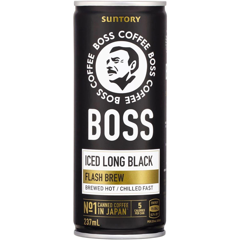 Boss Black Coffee, 237 Millilitre