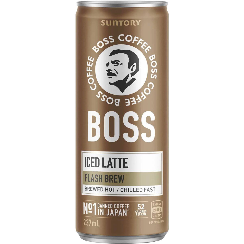 Boss Iced Latte, 237 Millilitre