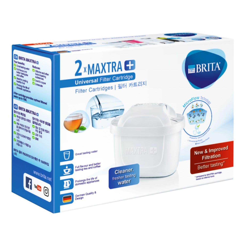 Brita Filter Cartridges Maxtra+, 2 Each