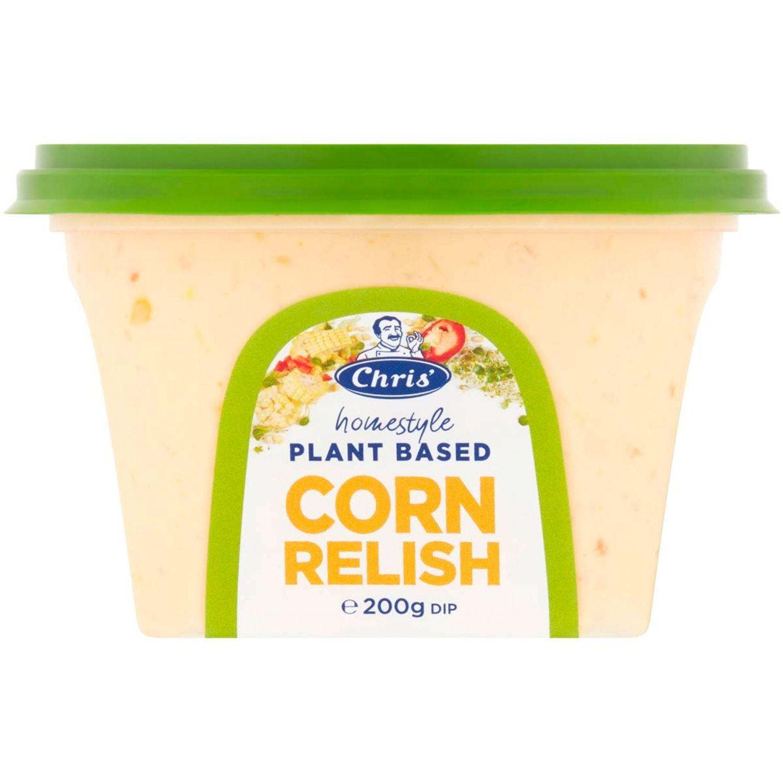 Chris' Plant Based Corn Relish , 200 Gram