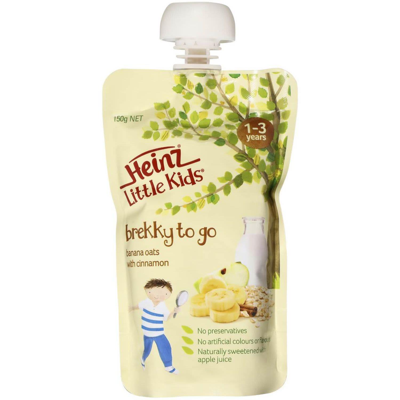 Heinz Little Kids 1-3 Years Banana Oats With Cinnamon, 150 Gram