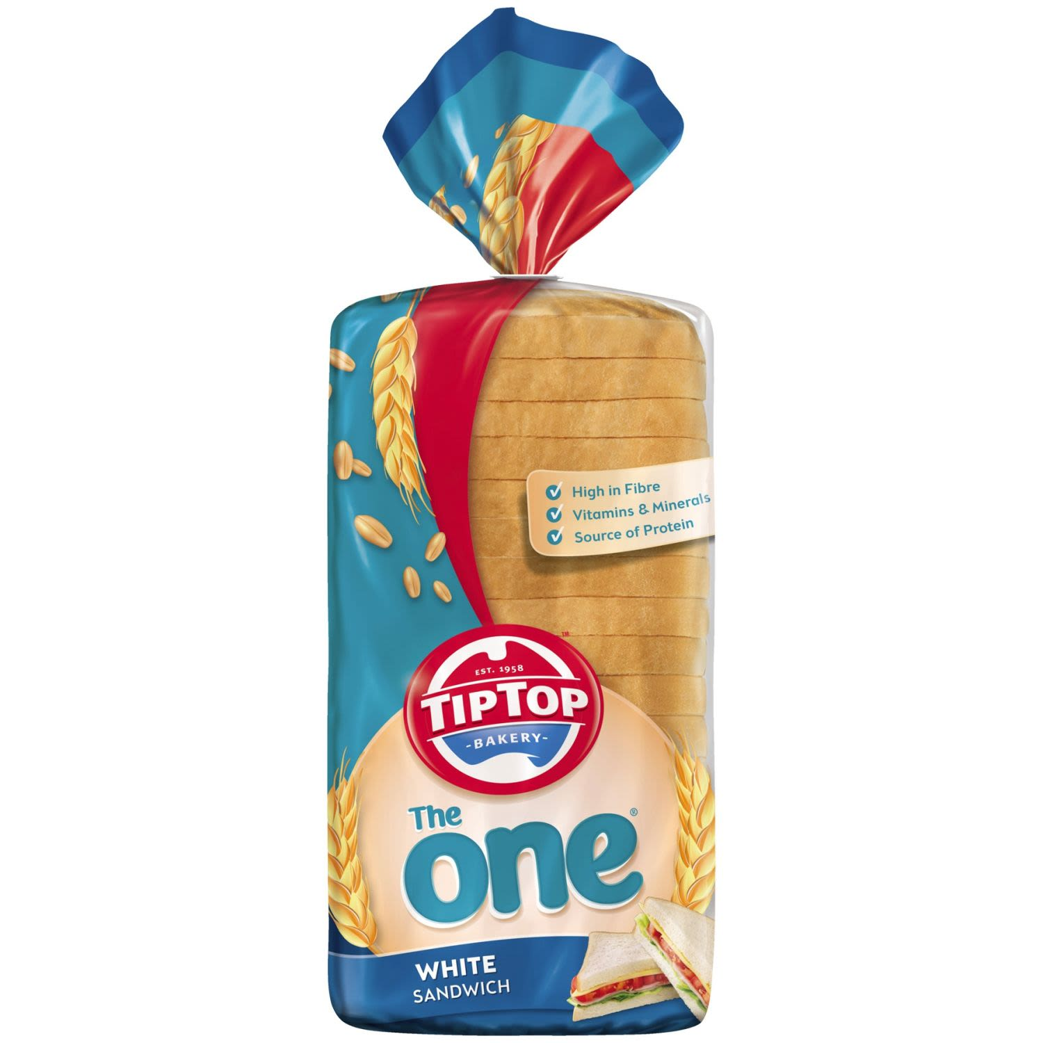 Proudly baking since 1958, Tip Top® is committed to providing quality bakery products for Aussie families. Whether it's our soft loaves of bread perfect for making sandwiches, versatile English muffins for breakfast and snacks, or hot dog rolls to feed the masses during footy season, Tip Top@ has you covered It's no wonder the family says...