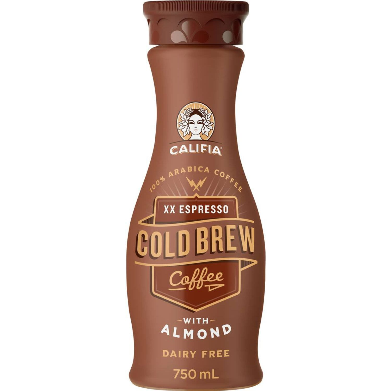 Califia Farms Double Espresso Cold Brew Coffee With Almond, 750 Millilitre