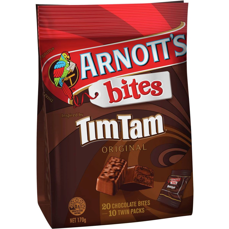 Arnott's Bites Tim Tam, 170 Gram