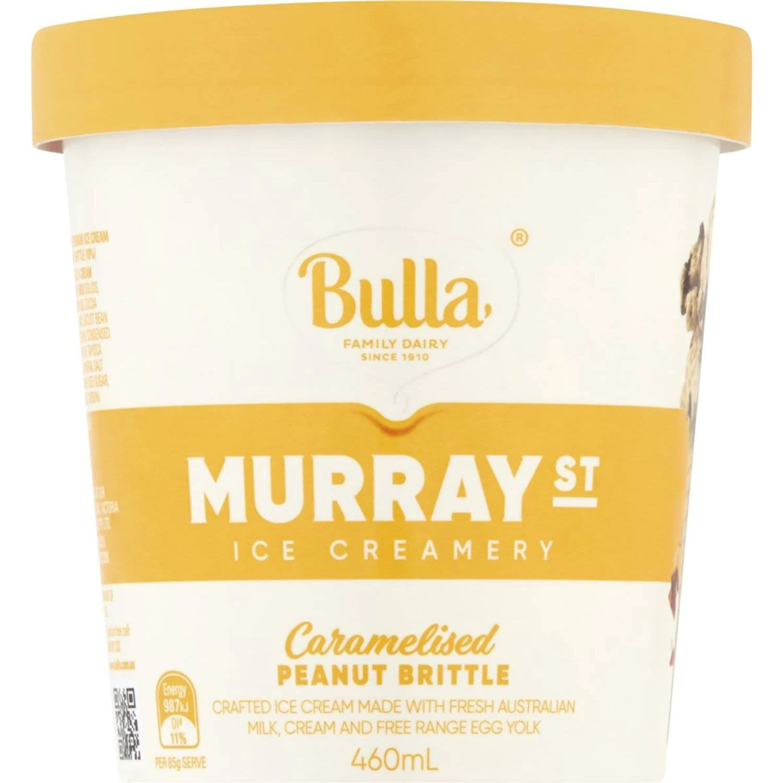 Bulla Murray Street Caramelised Peanut Brittle, 460 Millilitre