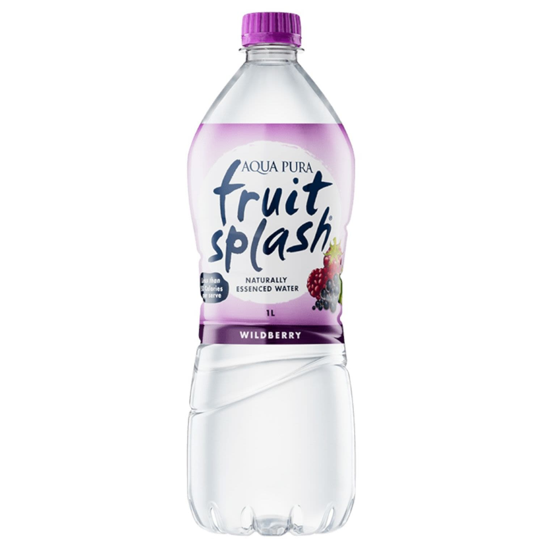 Aqua Pura Fruit Splash Wildberry, 1 Litre