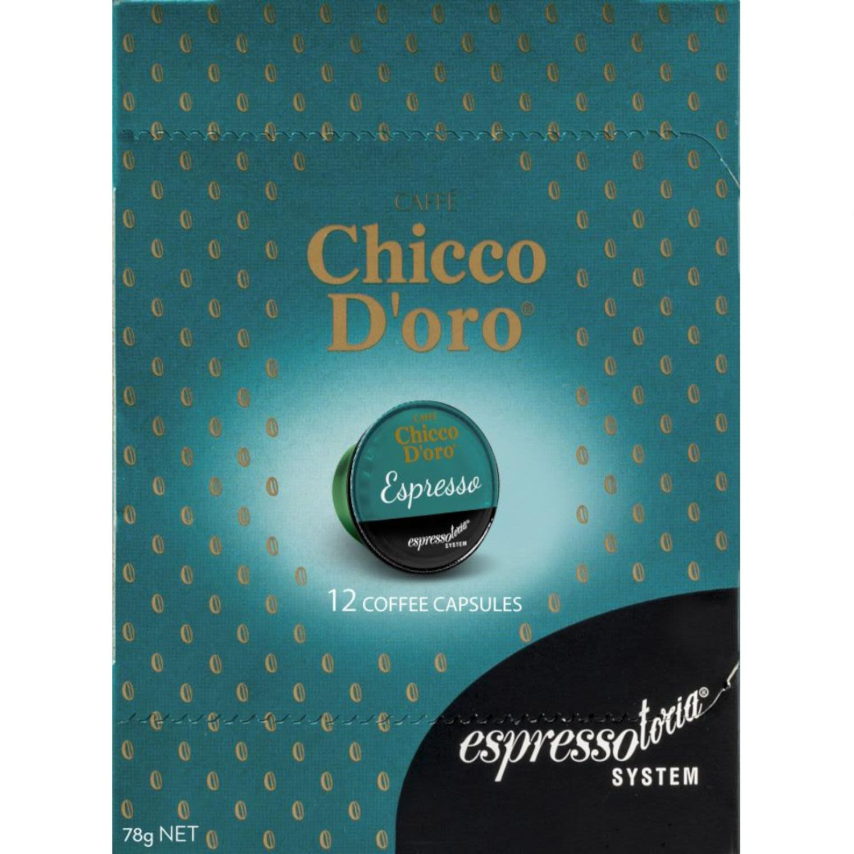 Chicco D'oro Espresso Coffee Capsules, 12 Each