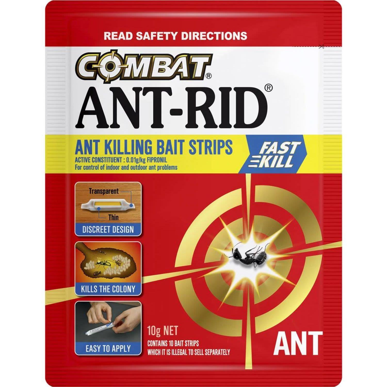 Combat Antrid Bait Strip, 10 Each