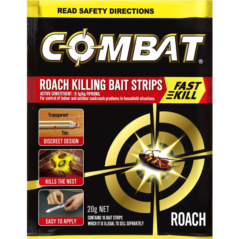 Combat Roach Killing Bait Strips, 20 Gram