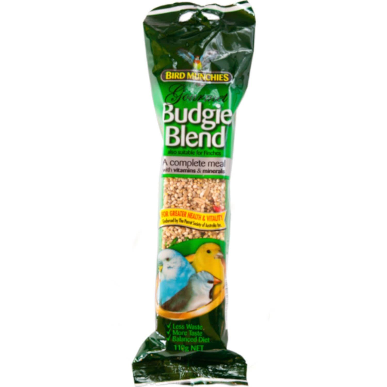 Bird Munchies Budgie Gourmet Blend, 110 Gram